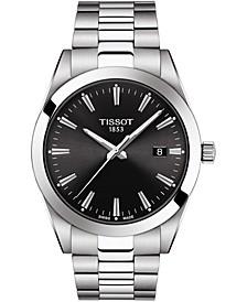 Men's Swiss T-Classic Gentleman Stainless Steel Bracelet Watch Watch 40mm