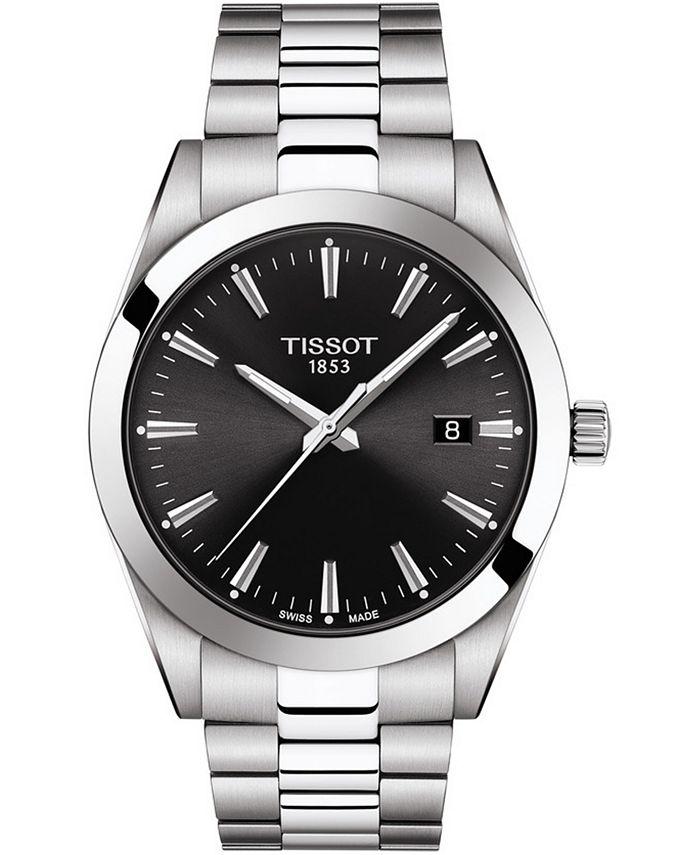 Tissot - Men's Swiss T-Classic Gentleman Stainless Steel Bracelet Watch Watch 40mm