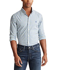 Men's Classic Fit Stretch Poplin Shirt