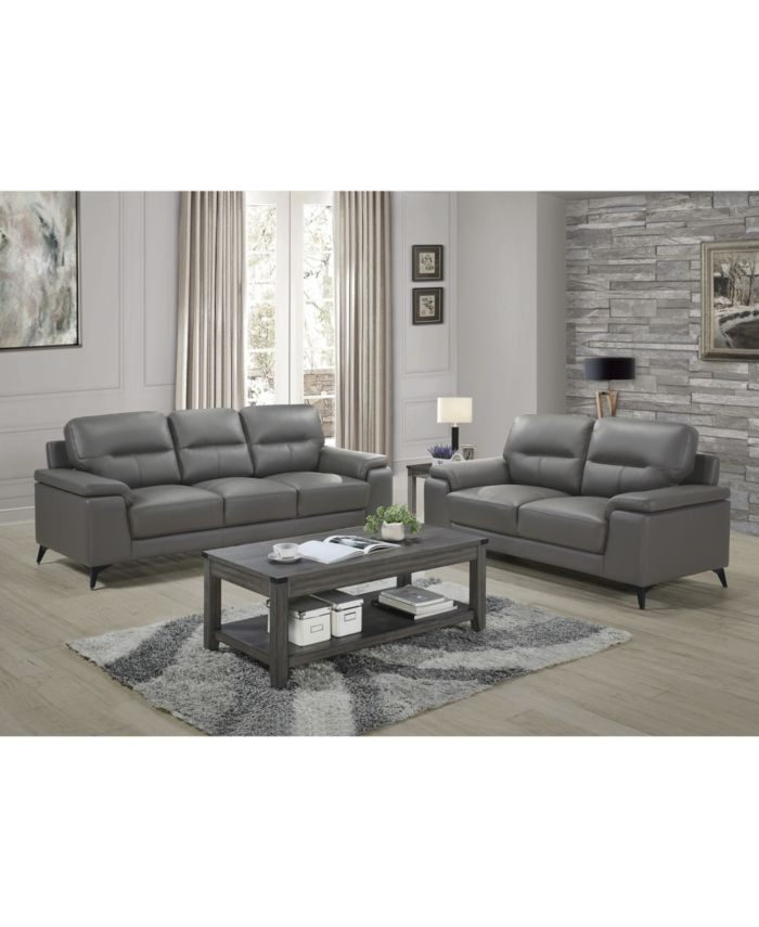 Furniture Palmyra Loveseat & Reviews - Furniture - Macy's