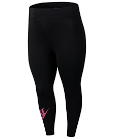 Plus Size Sportswear Leg-A-See High-Rise Leggings