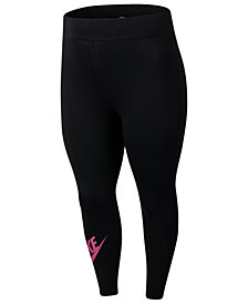 Nike Plus Size Sportswear Leg-A-See High-Rise Leggings