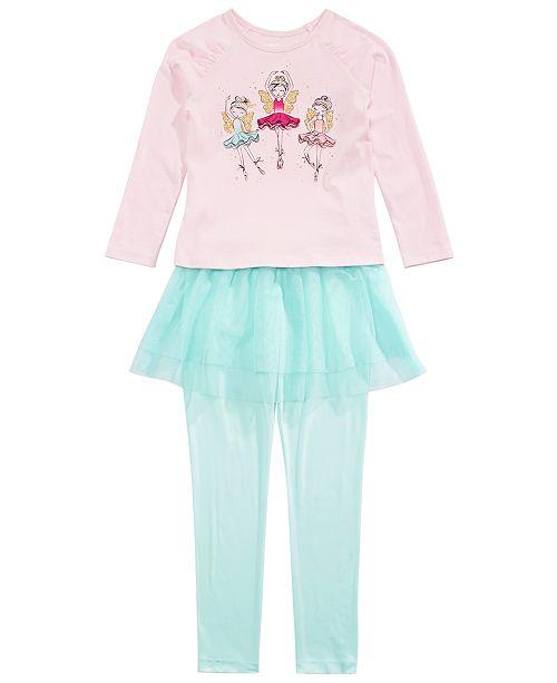 Epic Threads Toddler Girls Fairy T-Shirt & Tutu Leggings, Created For Macy's