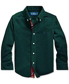 Little Boys Cotton Corduroy Shirt