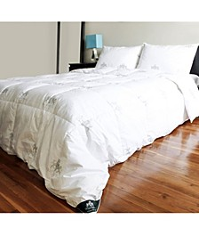 Down Bed Comforter Jacquard Cotton Case, King Size