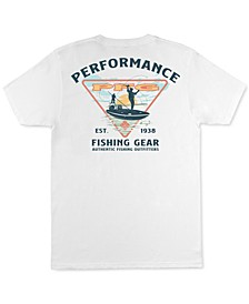 Men's Cast Performance Fishing Gear Graphic T-Shirt