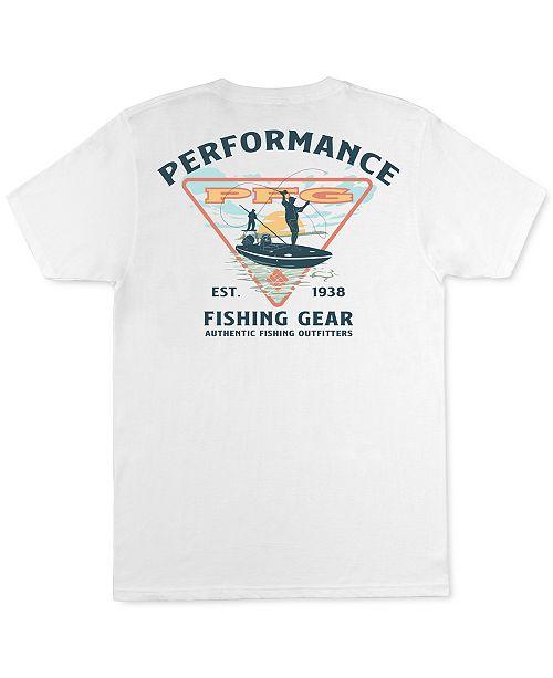 Columbia Men's Cast Performance Fishing Gear Graphic T-Shirt
