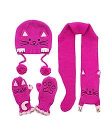 Big Girl Lucky Cat Knitwear Set