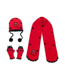 Big Girl Ladybug Big Knitwear Set