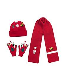 Big Boys and Girls Xmas Knitwear Set