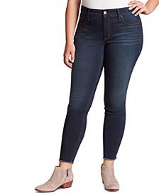 Trendy Plus Size Kiss Me Skinny Jeans