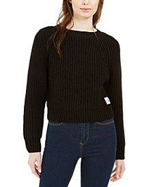 Cropped Knit Sweater