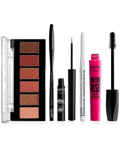 NYX Professional Makeup Bigger Brighter Eye Bundle