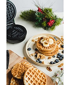 Mini-Waffle Maker Christmas Tree