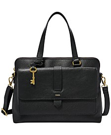 Kinley Leather Satchel