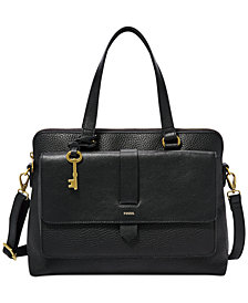 Fossil Kinley Leather Satchel