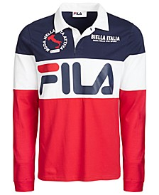 Men's Colorblocked Rugby Shirt