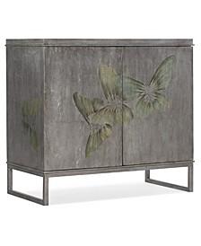 Two-Door Grey Cabinet