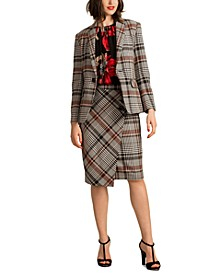 Habanero 2 Plaid Single-Button Blazer