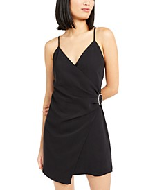 Cami Faux-Wrap Mini Dress