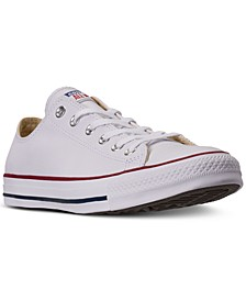 Men's Chuck Taylor All Star Leather Ox Casual Sneakers from Finish Line