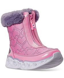Little Girls S Lights Happy Hearted Boots from Finish Line
