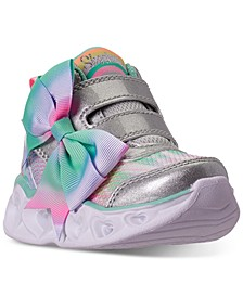 Toddler Girls S Lights Sun Charms High Top Light-Up Stay-Put Closure Casual Sneakers from Finish Line