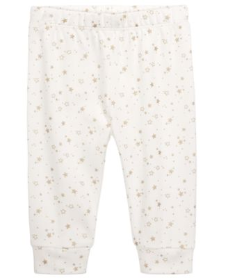Baby Unisex Star-Print Cotton Jogger Pants, Created for Macy's