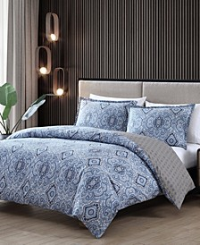 Milan Full/Queen Comforter Set
