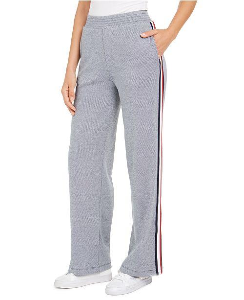 Tommy Hilfiger Side-Stripe Sweatpants