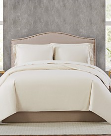 400TC Percale Cotton Full/Queen Duvet Set