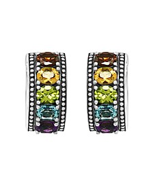 EFFY® Multi-Gemstone (5 ct. t.w.) Earrings in Sterling Silver