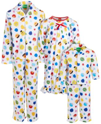 Isaac Mizrahi Loves SesStreet Little & Big Boys 2-Pc. Pajama Set