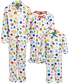 Isaac Mizrahi Loves SesStreet Baby, Toddler, Little & Big Boys & Girls Nightgown & Pajama Sets