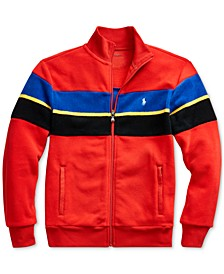 Big Boys Striped Fleece Jacket, Created For Macy's