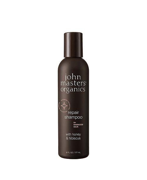 John Masters Organics Repair Shampoo for Damaged Hair with Honey Hibiscus- 6 fl. oz.