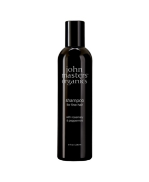 Shampoo for Fine Hair with Rosemary and Peppermint- 8 fl. oz.
