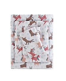 True North Cotton Flannel 3-Piece Twin XL Sheet Set