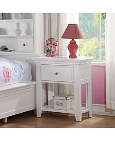 Lacey Nightstand with 1 Drawers