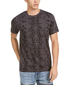 Men's Python Print T-Shirt