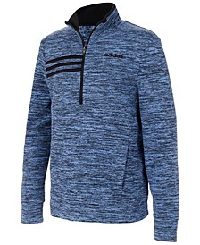 Big Boys Half-Zip Microfleece Sweatshirt