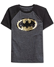 Toddler Boys Batman Flip Sequin T-Shirt