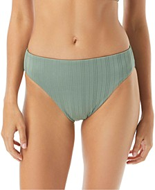 Ripple Effect High-Leg Bikini Bottoms
