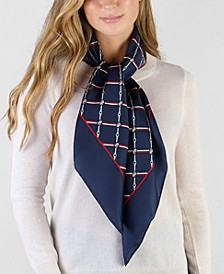 Cathy Silk Square Scarf