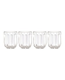 Park Circle Clear Glasses, Set of 4