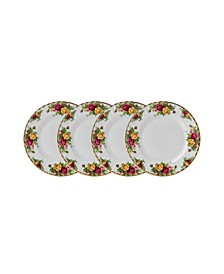 Old Country Roses Salad Plate Set/4