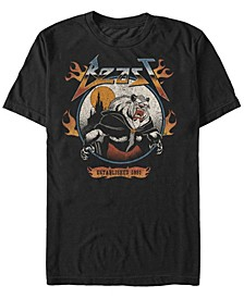 Men's Beauty and the Beast Metal Beast, Short Sleeve T-Shirt