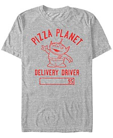 Pixar Men's Toy Story Pizza Planet Delivery Driver, Short Sleeve T-Shirt