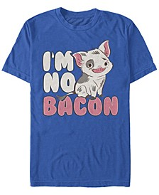 Men's Moana Pua Cute I'm No Bacon, Short Sleeve T-Shirt