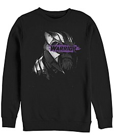 Men's Avengers Endgame Thanos Mad Warrior, Crewneck Fleece
